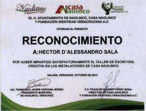 RECONOCIMIENTO CASA NAOLINCO